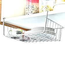 over the door basket organizer white hooks closetmaid wire storage baskets