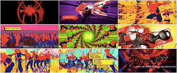 We were in painting heaven. Spider Man Into The Spider Verse 2018 Art Of The Title