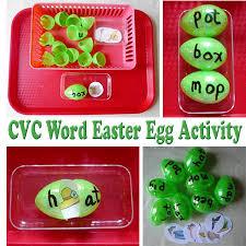 word easter egg cvc word easter egg activity kidssoup