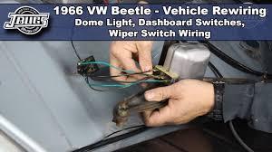 Vw Beetle Light Switch Wiring Jbugs 1966 Vw Beetle Vehicle Rewiring Dashboard Switch Wiring