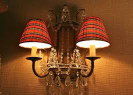 plaid lamp shades design plaid the quintessential pattern lamp shades fascinating tartan country small table red