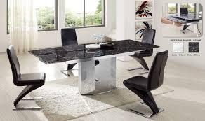 Table De Cuisine Ronde En Marbre Table Moderne Avec Rallonge Table