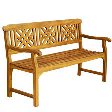 outdoor wooden chairs with arms. 3 Seater Acacia Garden Patio Bench With Arms Outdoor Wooden Furniture HOT SALE -in Benches From On Aliexpress.com | Alibaba Group Chairs