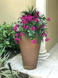 artificial flowers outdoor hanging baskets silk bougainvillea dusty miller and faux outdoor