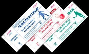 Prize Draw Tickets 50 50 Draw Tickets Quickprint Uk Ltd