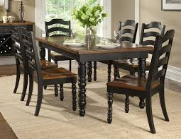 distressed black dining room sets chairs seating distressed dining room chairs for