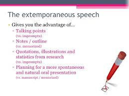 chapter public speaking planning the message extemporaneous  essay on public speaking chapter 11 public speaking planning the message