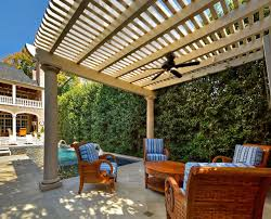freestanding patio cover pergola columns pergola fan pergola and patio cover harold leidner landscape