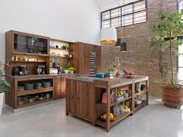 Küche aus Holz mit Kücheninsel LOFT TEAM 7 Natürlich Wohnen