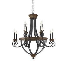 modern farmhouse light fixtures nanteuil 12 light candle style chandelier birchlane