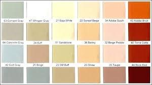 Terra Cotta Color Chart Terracottaor Scheme Terra Cottaors Paint Combinations Chart