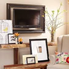 Tv Frame Ideas Wall Decorating Ideas Living Room