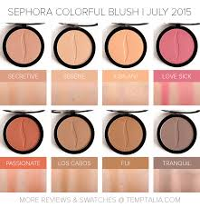 sephora colorful blushes july 2016 shade extensions