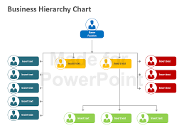 Powerpoint Hierarchy Templates Organizational Chart Powerpoint Slide Powerpoint Hierarchy Template