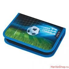<b>Пенал Herlitz</b> без наполнения <b>Soccer</b> купить в Москве | Интернет ...