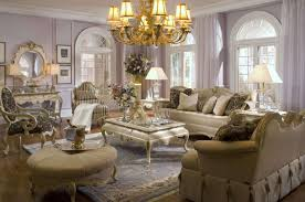 living room furniture styles. Deluxe Traditional Living Rooms Furniture Designs With Brass Chandelier Shade Lights Over Creamy Fabric Luxury Room Sets Dome Windows As Styles G