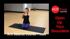 arm balance counter poses how to open up your shoulders
