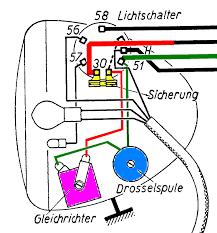Fein motorradscheinwerfer verkabelung ideen elektrische schaltplan