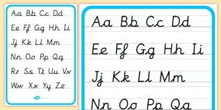 Abc Chart For Autism Proper Alphabet Letters Capital And Small Abc Chart
