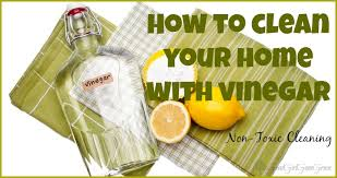 How to Clean Your Home with Vinegar GoodGirlGoneGreen.com #safe #nontoxic # cleaning