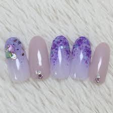 藤の花ネイル Lapin