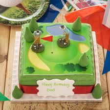 Golf Birthday Cake Sporting Birthday Cakes The Brilliant Bakers