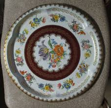 Daher Decorated Ware Tray Made In England VINTAGE Daher Decorated Ware Metal Tin TrayMade in England6060 25