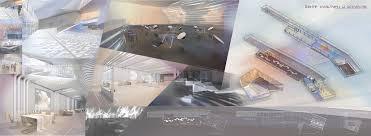 results of the international competition of architectural graphics  Елисеева А Музей современного искусства jpg