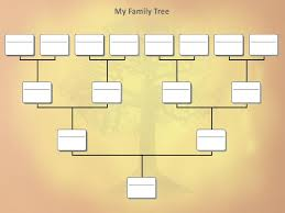 free easy family tree template free printable family tree template editable 207040