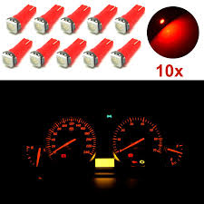 Us 202 17 Off10 Stks T5 37 70 Rode Auto Led Dashboard Instrumentenpaneel Indicator Lampjes Voor Honda Dxy88 In 10 Stks T5 37 70 Rode Auto Led