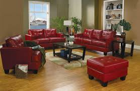 Red Leather Living Room Sets Red Leather Living Room Furniture Furnitures Design