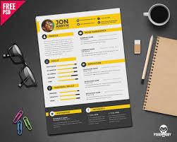 Psd Resume Template Photoshop Word Free Download December Portfolio