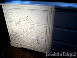 painting designs on furniture. modren designs draw or trace a design onto transparency for perfectly painted designs  on furniture  inside painting designs on furniture