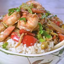 Asian Shrimp Rice Bowls Recipe - Food ...