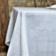 white lines flannelback vinyl tablecloth in gray 60 inch round kitchen dining 6p9vj8dug