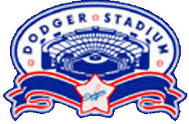 Los Angeles Dodgers Stadium Logo - National League (NL) - Chris ...