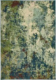 oriental weavers dawson 8021b blue green area rug