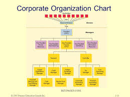 Pearson Organizational Chart Chapter One Overview Of Corporate Finance Ppt Download