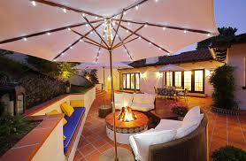 outdoor terrace lighting. allen roth outdoor umbrella lights terrace lighting