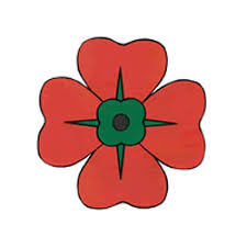 poppy template remembrance day poppy paper craft instructions