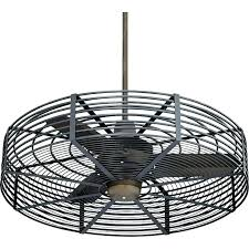 flush mount caged ceiling fan.  Mount Caged Ceiling Fan Industrial Cage Fans Style  Vintage Breeze Bronze   On Flush Mount Caged Ceiling Fan S