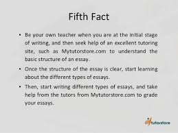 seven facts that increase your writing skills 6 fifth fact