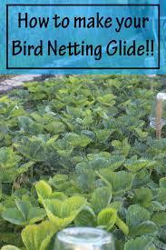 bird netting for garden. Unique Garden Hereu0027s A Great Garden Hack How To Make Your Bird Netting Glide Off  Strawberry Plants On Bird Netting For Garden