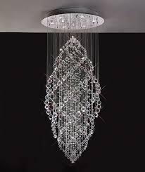 stunning crystal pendant chandelier lighting design
