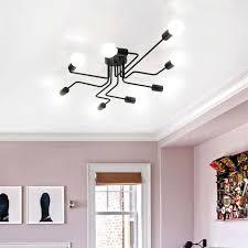 chandelier black large chandelier lobby modern ceiling lights bedroom black led pendant lighting black chandelier lamp shades