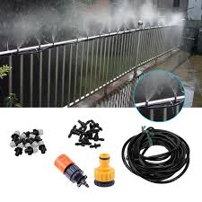 2019 10m 15m 25m diy drip irrigation system atomizing nozzle sprinkler irrigation set for garden lawn plants watering kits from zhexie 34 62 dhgate com