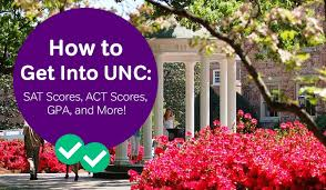 Unc Admissions The Sat Act Scores And Gpa You Need To Get