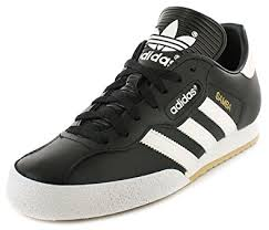 adidas shoes black and white. adidas samba super black textile leather indoor soccer shoes trainers - black/white uk and white h