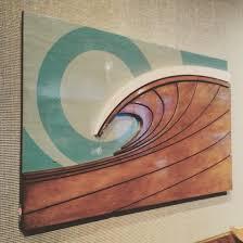 surf artwork surf art surf artist wood waves surfboard decor wood on wooden beach themed wall art with beach themed 3d wood sculptures surf wall art shaun thomas art