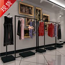 Apparel Display Stands Best Four Sided Clothing Display Rack Made Of Stainless Steel 28